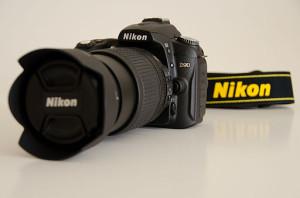 DSLR-Spiegelreflexkamera