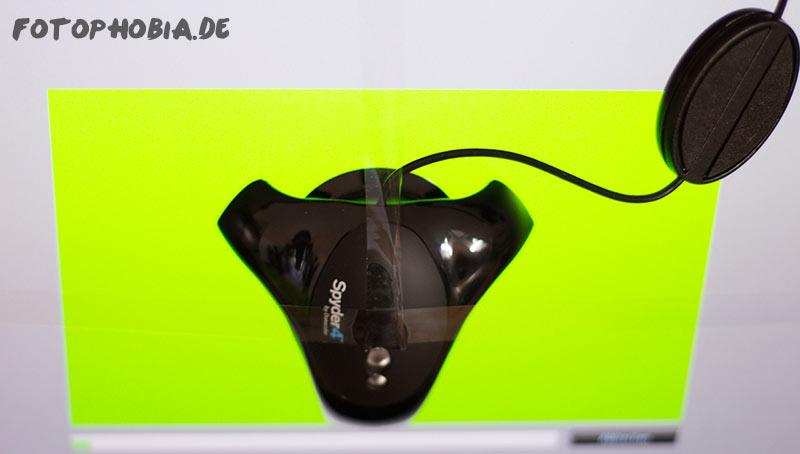 Monitorkalibrierung mit Spyder4Pro