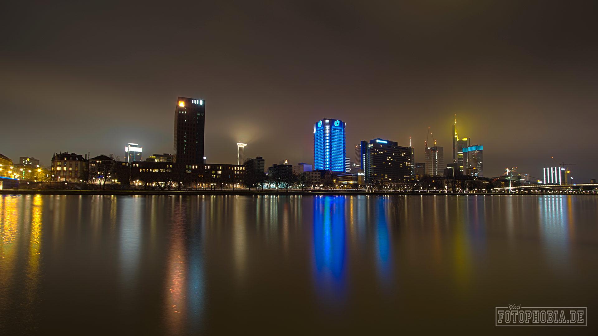 Foto der Frankfurter Skyline
