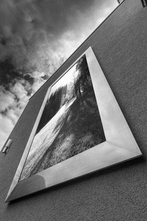 Bilderrahmen mit Landschaft