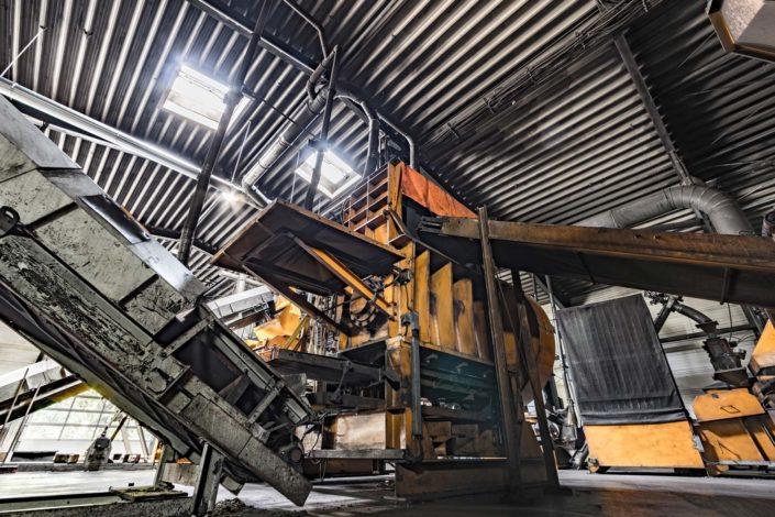 Foto einer Industriemaschine