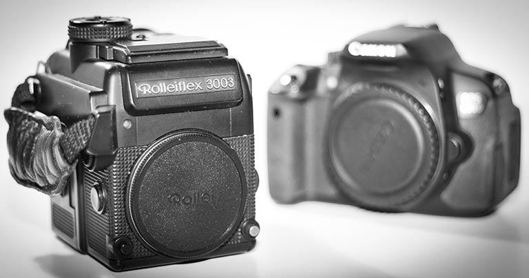 Verschiedene Kameratypen im Vergleich
